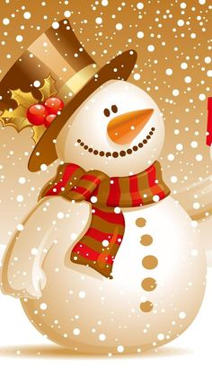 merry christmas snow man wallpaper mobile free download