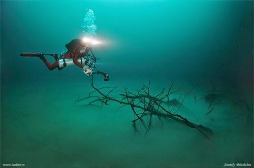 Cenote Angelita, Mystical Underwater River in Mexico