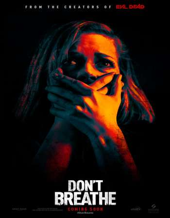 Poster Of Don't Breathe 2016 English 400MB BRRip 720p ESubs HEVC Free Download Watch Online downloadhub.in