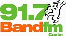 Rádio Band FM de Coxim ao vivo