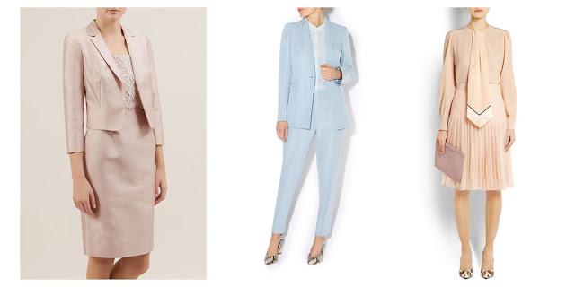 Комплекты одежды в пастельных цветах