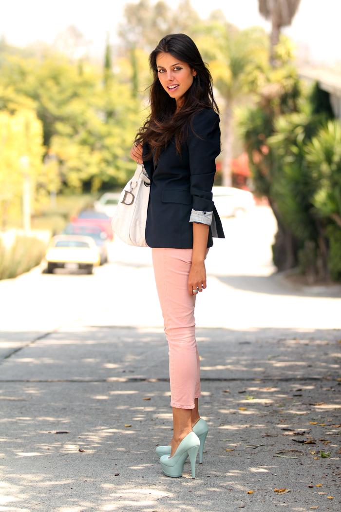 Vivaluxury Fashion Blog By Annabelle Fleur Pink Jeans Post