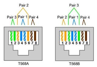 standar kabel jaringan