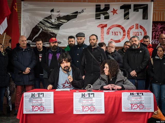 Presentación de la plataforma K17 de conmemoración de la Revolución de 1917