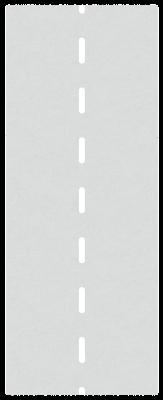 道路と車のイラスト