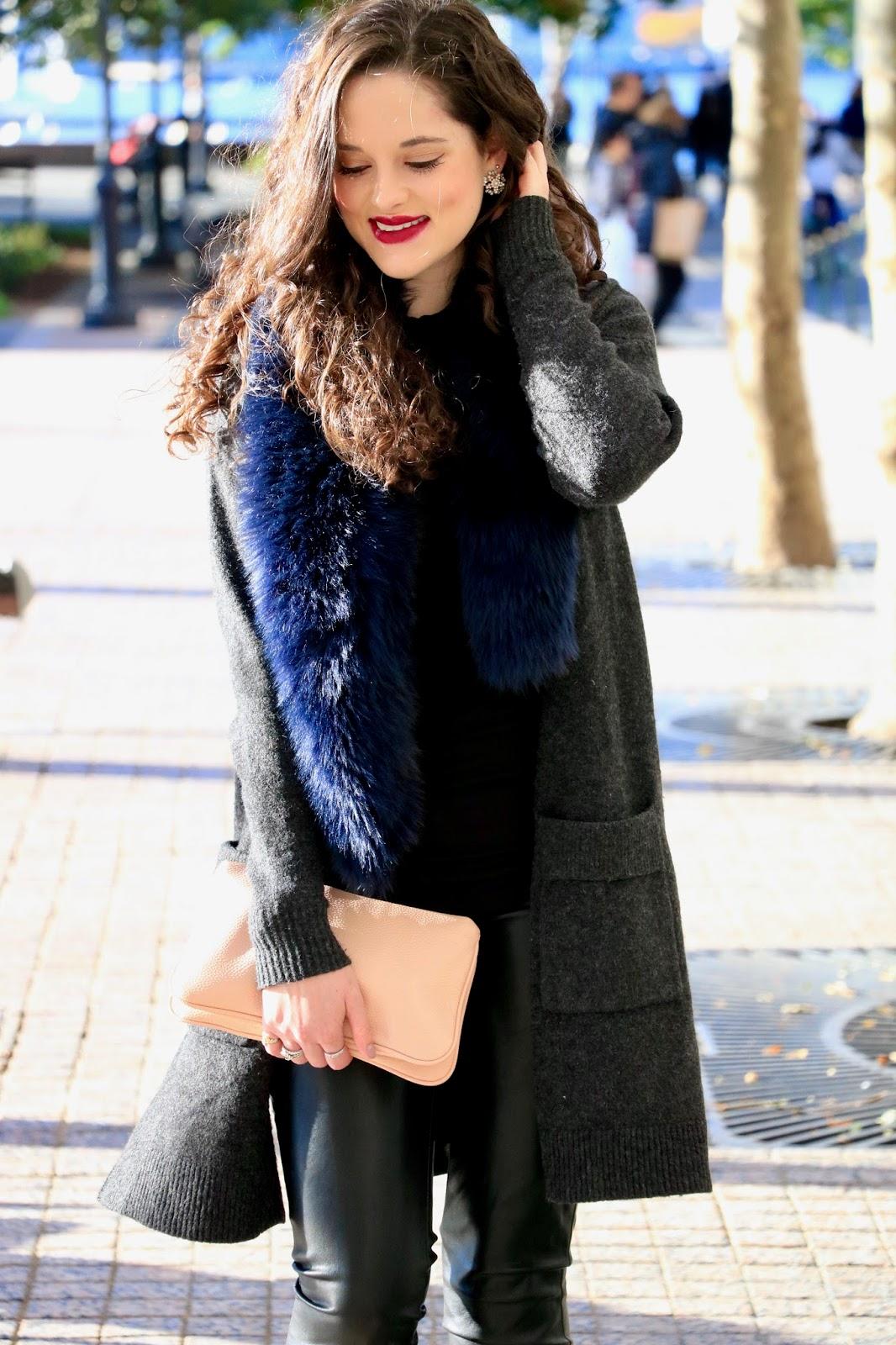 fur stole scarf
