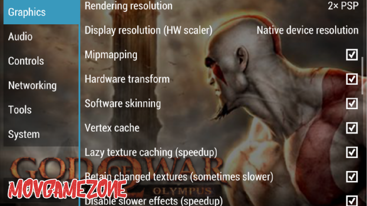 God of War Chains of Olympus for Android Game Only 85mb