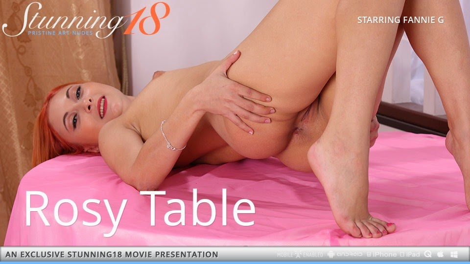 Stunning18 2014-12-18 Fannie G - Rosy Table (HD Video) 12070