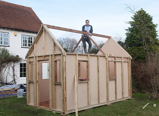 Shedworking How to build a tiny house
