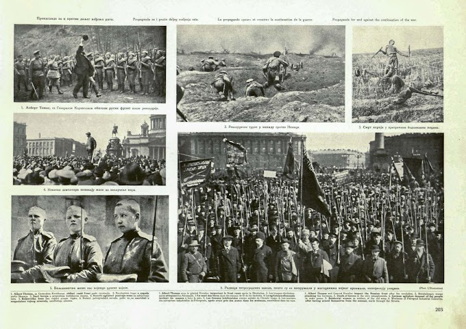 World War 1 And The Russian Revolution – Part 4 - Propaganda for and against the continuation of the war