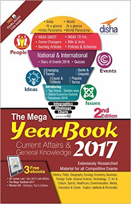Download Free The Mega Yearbook 2017 - Current Affairs & General Knowledge for Competitive Exams Book PDF