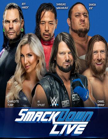 WWE Friday Night Smackdown (31 January 2020) English 250MB HDRip 480p