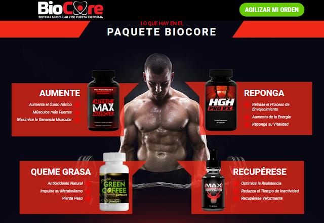 biocore muscle & fitness system ecuador