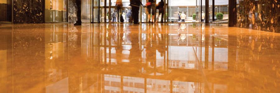 bề mặt bê tông hoàn thiện sau quy trình đánh bóng sàn bê tông