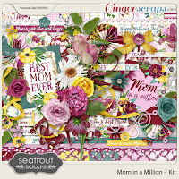 Kit : Mom in a Million by Seatrout Scraps