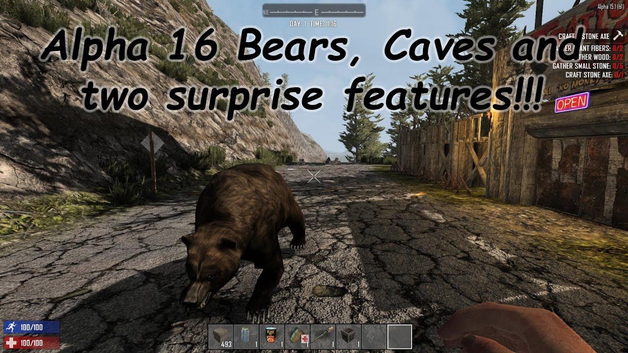 Hive Gaming: 7 Days to Die Xbox One Alpha 16 Update - 10.16.1