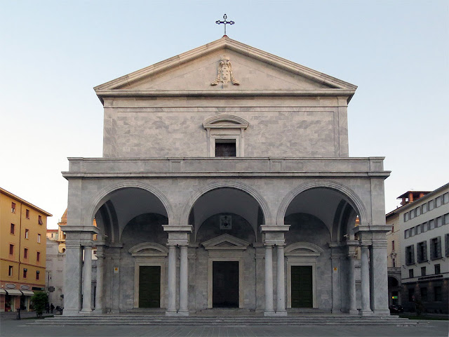 Cathedral of San Francesco, Piazza Grande, Livorno
