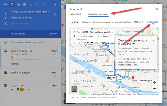 condividere-link-incorporare-mappa