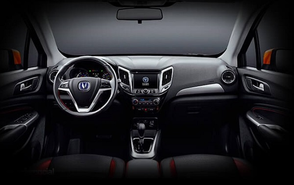 Interior Changan CS15 Argentina