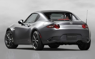 The Mazda MX-5 Convenience: cruise control, electric power steering