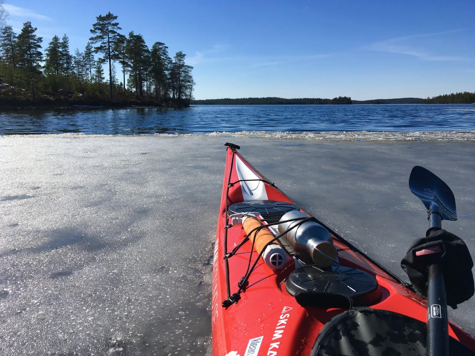 Ivan Hedlund: Påskpaddling vid Malingsbo Kloten