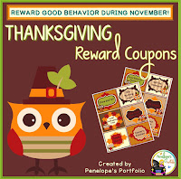 Thanksgiving Reward Coupons