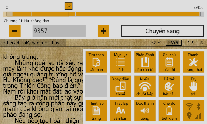 Ứng dụng đọc ebook hiệu quả trên Windows Phone