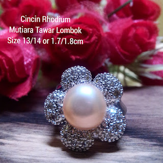 Katalog Harga Cincin Mutiara Lombok