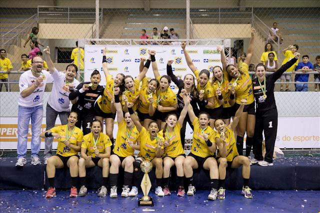Concórdia (SC) Campeón en la  liga nacional brasileña de Brasil   Mundo Handball