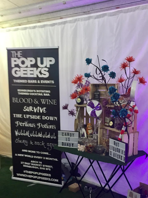 The Pop Up Geeks bar at Edinburgh Cocktail Village