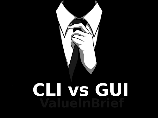 Command Line Interface (CLI) vs Graphical User Interface (GUI)