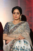 Sri Devi in designer saree stunning beauty at the launch of MOM movie Trailer~  Exclusive 035.JPG