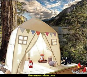 Kids Indoor Princess Castle Play Tents Playhouse Secret Garden Play Tent