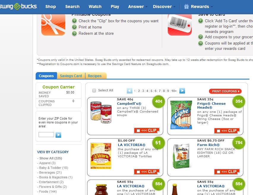 Foreach coupons as coupon