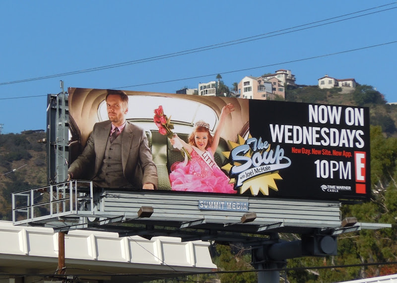 The Soup child beauty pageant TV billboard