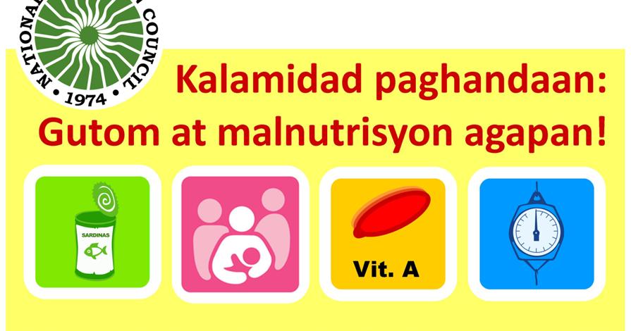 essay tungkol sa kalamidad paghandaan gutom at malnutrisyon agapan tagalog