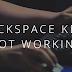I wish there was no backspace key