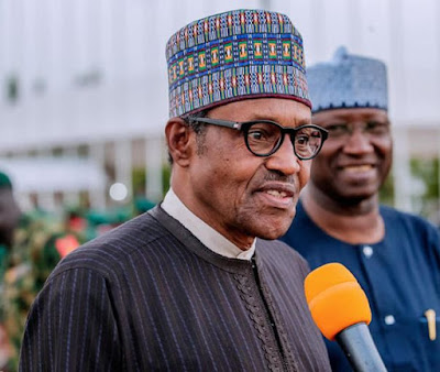 Police IG Is Loosing Weight, I Think He Is Working Very Hard – Buhari