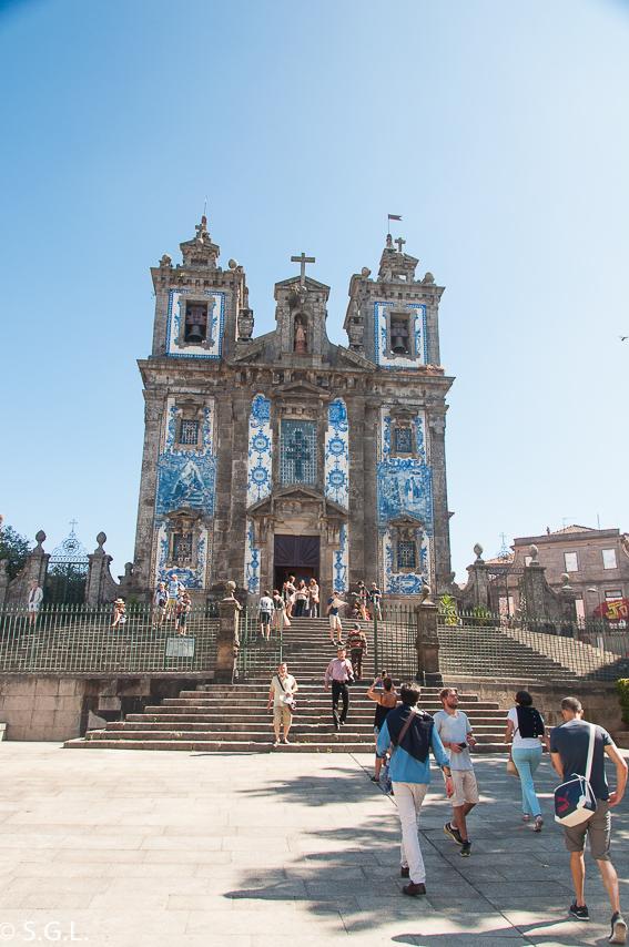 Oporto Iglesia San Ildefonso. Plaza Batalha