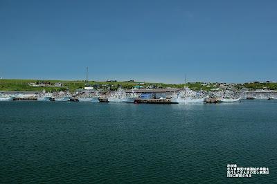 花咲港 サンマ棒受け網漁船の準備が。 先行してさんま流し網漁が8日に解禁に。 ≪Hanasaki Port≫