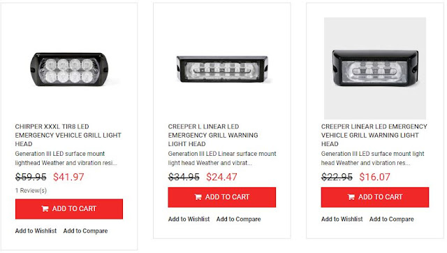 LED EQUIPPED CLEARANCE SALES