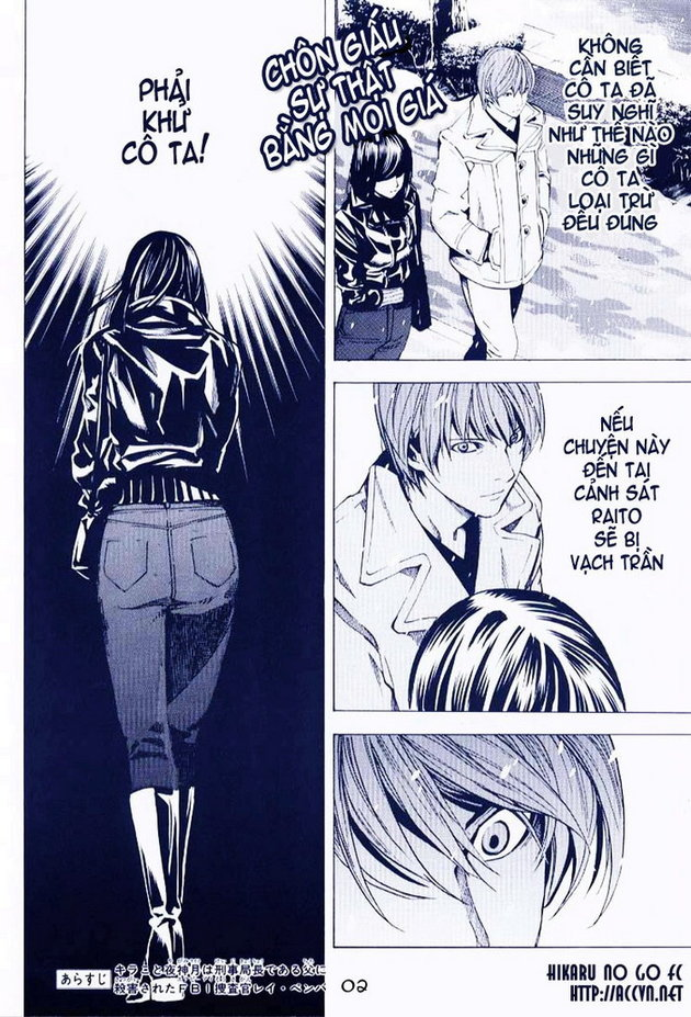 Death Note chapter 013 trang 2