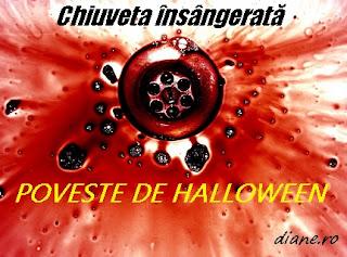 Chiuveta însângerată - Poveste de Halloween