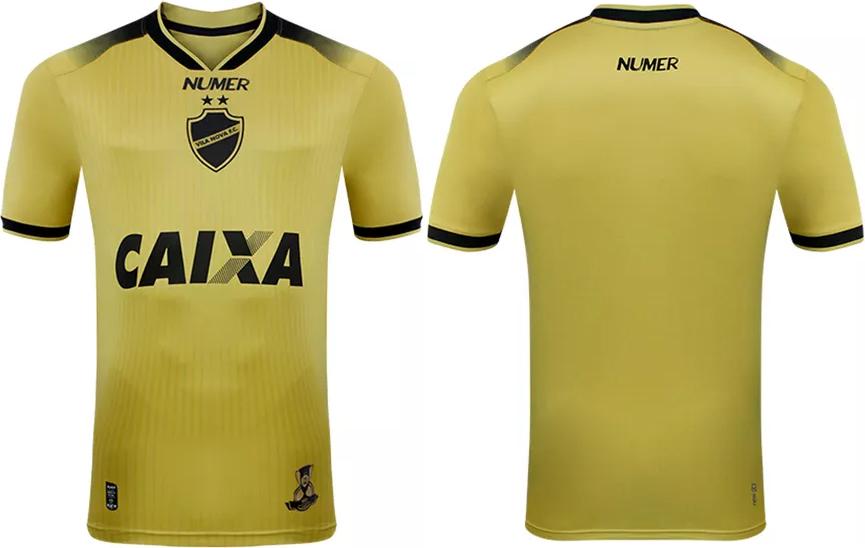 Numer divulga a nova terceira camisa do Vila Nova - Show de Camisas ff30dca400741