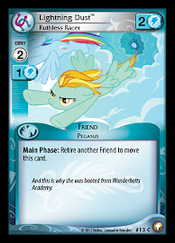 My Little Pony Lightning Dust, Ruthless Racer Equestrian Odysseys CCG Card