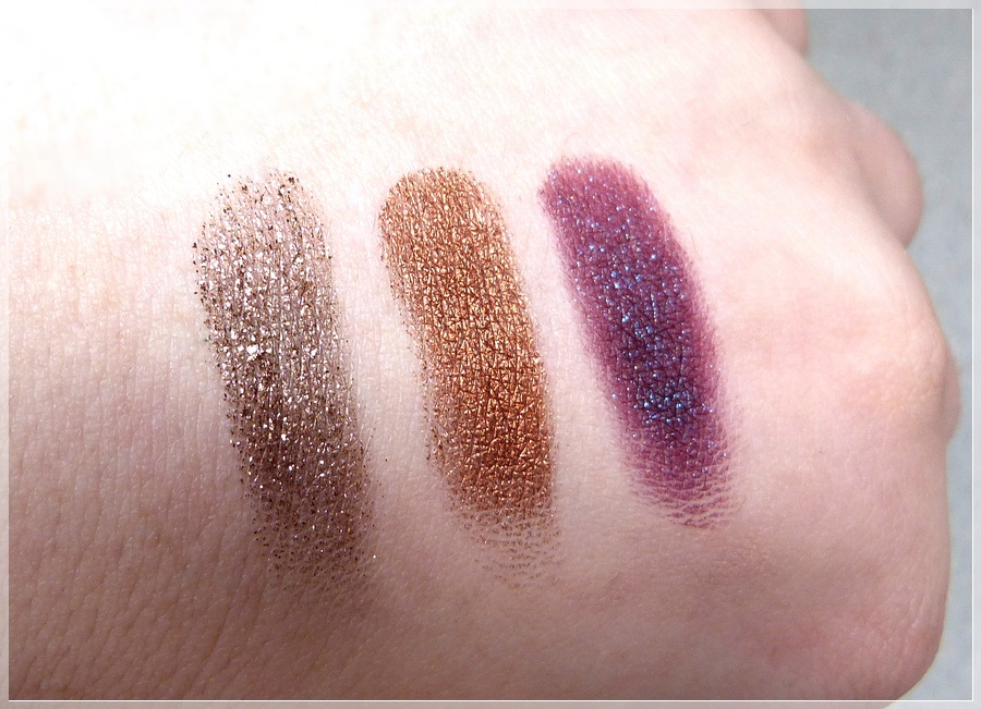 Colour Pop Swatches Nillionaire, Game Face und Bae
