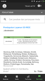 Tarif Gojek Per Km Terbaru 2018