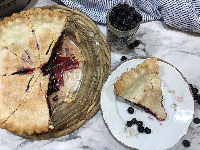 Black Raspberry Pie, Desserts, Pie, Easy Dessert, Chasing Saturdays