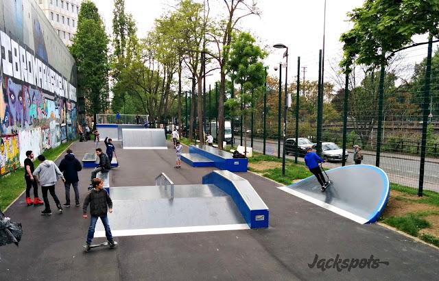 Skate park Paris porte de Vanves