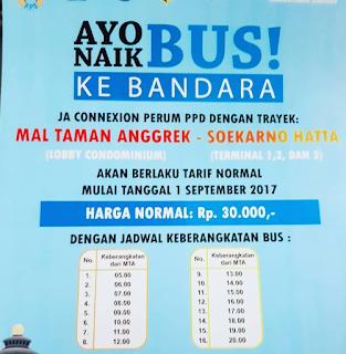 Jadwal Bus Mall Taman Anggrek